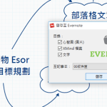 XMind + Evernote 心智圖筆記術的桌面同步工作流程