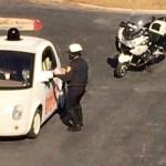 Google無人車遭警方攔檢 原因是開太慢…