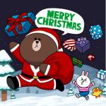 秒速送達的祝福~LINE 電腦版送聖誕卡、新年卡給親朋好友