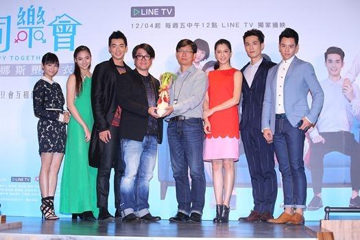 【圖十】LINE TV自製台劇《同樂會》