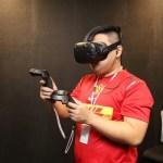 台北電玩展體驗 HTC VIVE Pre 遊戲,現場 PK 勝者送 HTC RE 防水攝錄機!