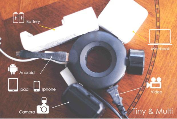 解決所有插電的煩惱 - MOGICS 甜甜圈延長線 2