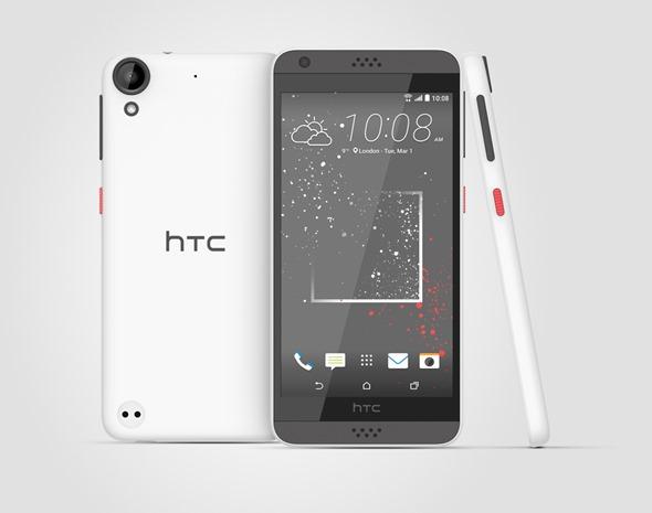 HTC Desire 530經典純色極光白