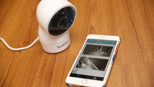 SpotCam HD Eva 雲端監控攝影機,廣角+360度旋轉鏡頭監視無死角! IMG_1383