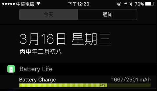 查詢iPhone電池健康度、壽命,Battery Life 免JB隨裝即測 1239692_10206918520615605_2885246656696869475_n