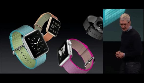 Apple 推出 Apple Watch 尼龍錶帶,色彩更繽紛多樣 apple-event-04