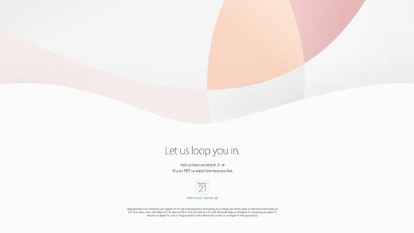 Apple 春季發表會將於3/21舉辦,預期發表iPhone SE 與小尺寸iPad Pro apple