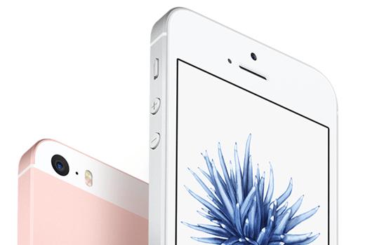 iPhone SE 背面與鏡頭