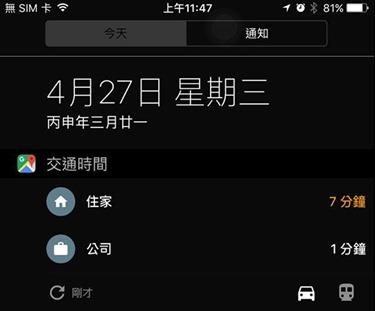 Google地圖新功能,不用解鎖自動顯示到家或公司的行車時間 13051711_10207276481844412_6535355724423261404_n