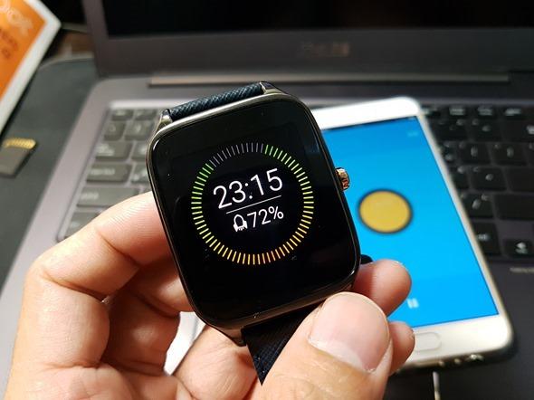 評測/ASUS智慧手錶 ZenWatch 2快充進化版+悠遊卡晶片錶帶,好用到沒有朋友! 20160429_013020
