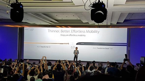 華碩 Zenvolution 發表全新 ZenBook 3、Transformer 3,外型、效能、價格驚豔全場 20160530_141543