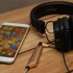 世界最輕、最小耳機擴大機 AQUA 來了! 手機也能擁有 HiFi 高音質