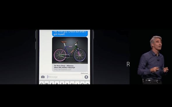 iOS 10 新功能大爆發,10大功能完整介紹 (含影片對照) 2016wwdc-139