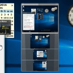 8GadgetPack讓Windows 10也能用Windows 7的桌面小工具(Gadget)