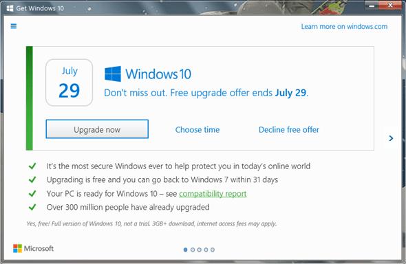 淺談:升級Windows 10嗎?7月29日免費升級前你還能多想一些 3175418
