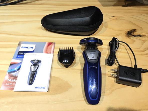 開箱:荷蘭原裝 PHILIPS 三刀頭乾濕兩用電鬍刀(S5600) image-12