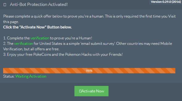 注意!Pokemon GO詐欺網站Coolpkgo以無限遊戲道具利誘玩家填寫問卷 (破解實測) %E5%9C%96%E7%89%87-74