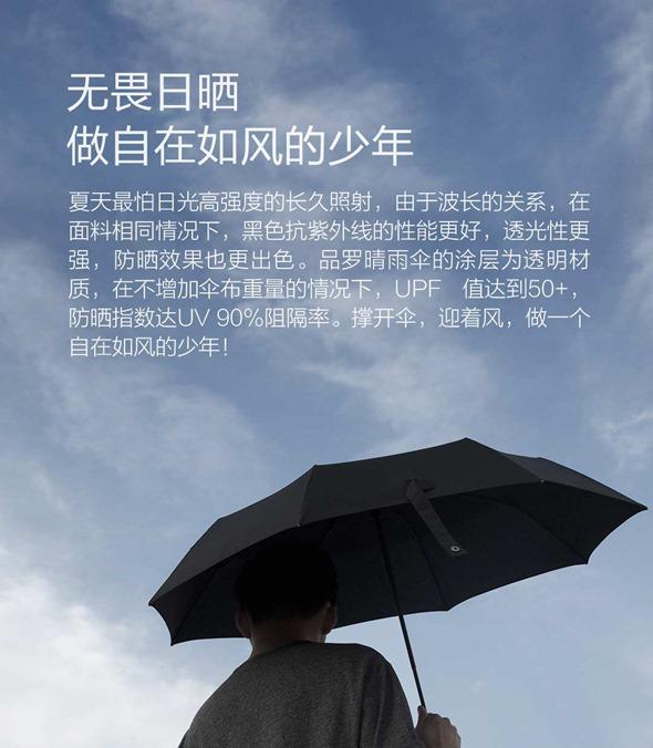 小米眾籌新品:品羅晴雨傘,台灣布料、鐵氟龍不沾水,輕薄好攜帶 %E5%B0%8F%E7%B1%B3%E6%99%B4%E9%9B%A8%E5%82%98-4