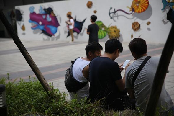 鏡頭直擊/捕捉台南各處 Pokemon GO 「街頭訓練師」 IMG_3834