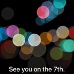 iPhone 7 將要來了!?Apple 將在7日舉辦發表會