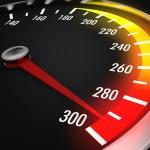 執行立即檢測與分析你的行動網路速度的「Fast Speed test」App