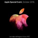 Apple Macbook Pro 2016 年發表會線上直播
