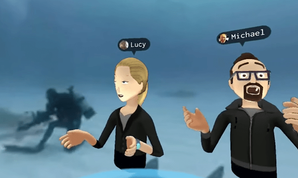 VR社交來了!Facebook 創辦人在 Oculus Connect 上展示虛擬實境社交互動 36