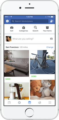 Facebook推出Marketplace功能,線上買賣、開店3步完成! feed_us