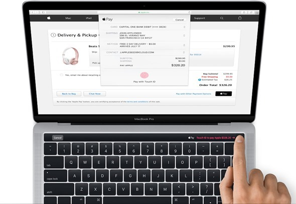 Apple新版MacBook Pro將導入 Magic Toolbar,支援Touch ID並可與應用程式連動使用 macbook-pro-magic-toolbar