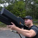 [科技新視野] 有如加農砲般的無人機剋星 DroneGun,可從2公里遠控制無人機