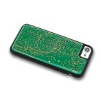 超酷炫的電路板風格電車路線圖手機殼