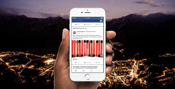 網路電台再起,Facebook 將推出語音直播 finalhero