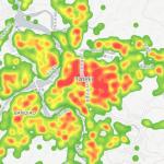 資訊圖表/從電子發票觀察台灣消費熱區