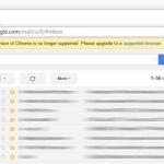 Gmail 將不再對 XP、Vista 與舊版 Chrome 支援,呼籲盡快更新或升級