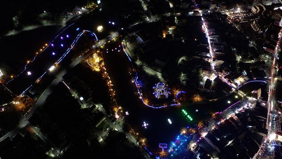 教你如何用手機拍出漂亮的月津港藝術燈景(追加手機4G網路速度測試) DJI_0258