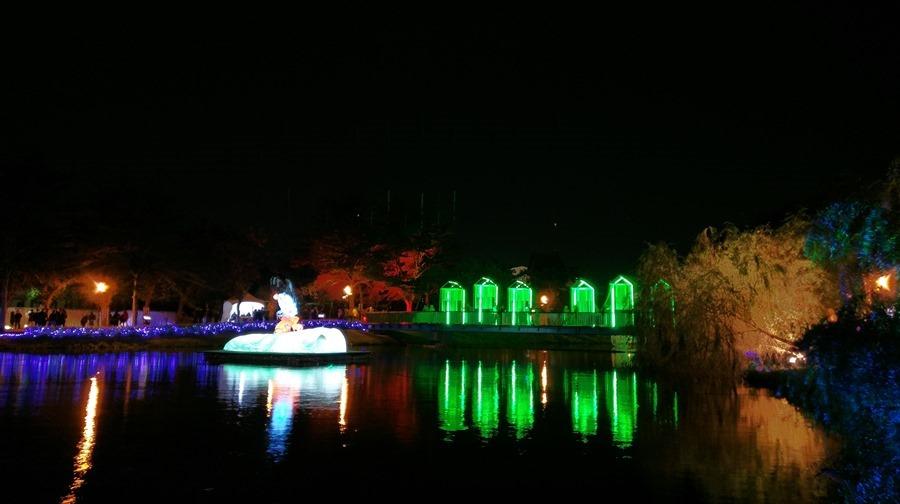 教你如何用手機拍出漂亮的月津港藝術燈景(追加手機4G網路速度測試) IMAG1537
