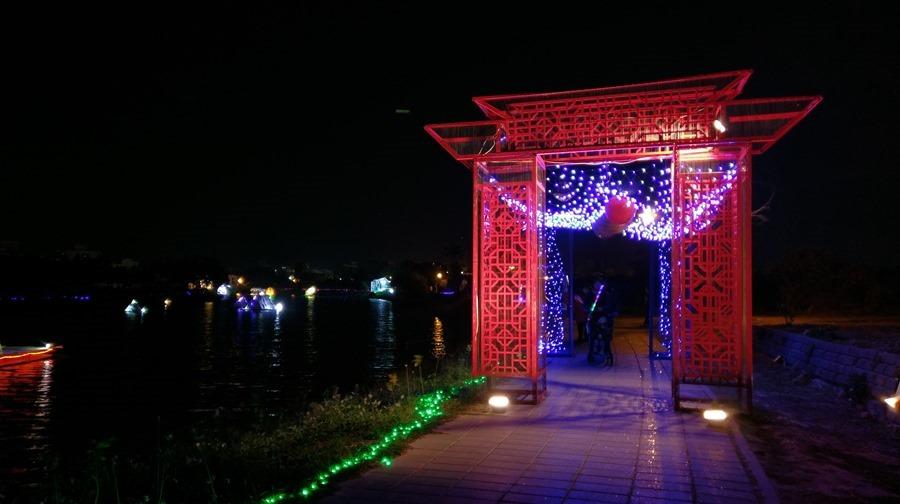 教你如何用手機拍出漂亮的月津港藝術燈景(追加手機4G網路速度測試) IMAG1668