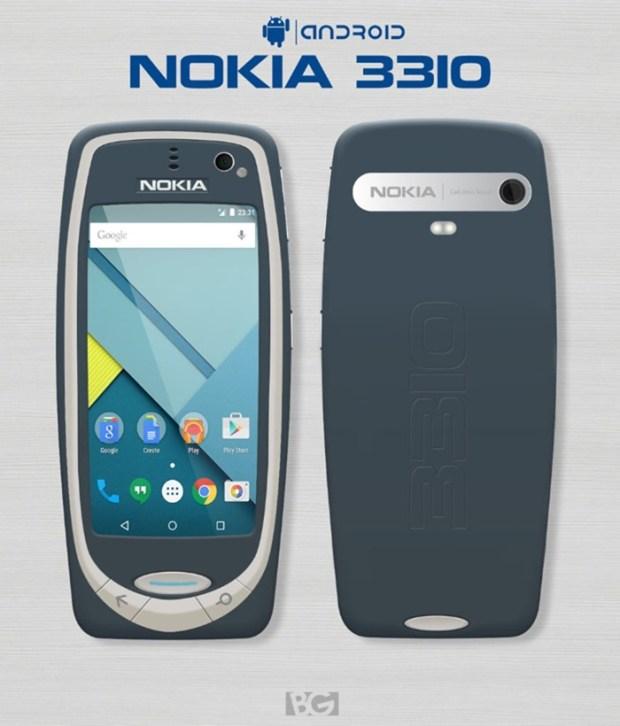 MWC 2017:Nokia 可能在一口氣推出 Nokia 3/5/6(Global)/8/9 與 Nokia 3310 神機 Nokia-3310-Android-imagenes-concepto-700x820