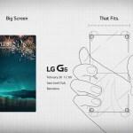 【MWC 2017】LG發出邀請函,將發表 LG G6 新旗艦機