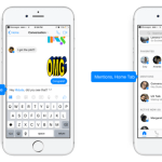 Facebook Messenger 推出群聊成員標記功能「@姓名」提醒成員閱讀重要訊息