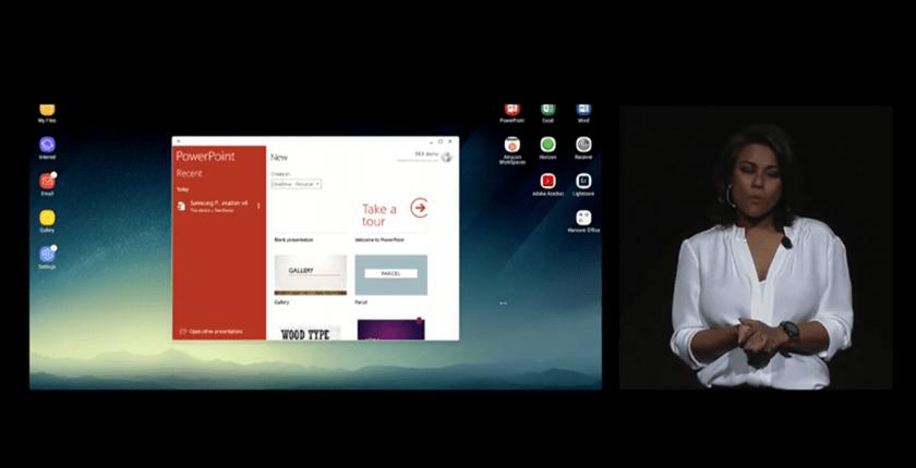 超強配件 Samsung DeX行動工作站,讓 Galaxy S8/S8+ 直接變身桌上電腦 089