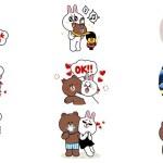 2款超萌的熊大&兔兔戀愛篇 iMessage 貼圖免費下載