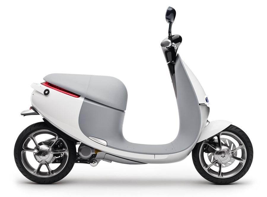 "高仿GOGORO,強國ESCOOTER""E客E1""電動機車宣傳影...來了 gogoro-bike"