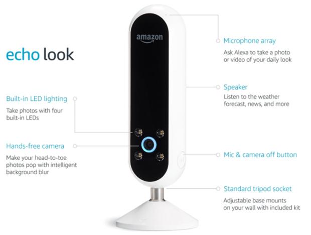 Amazon Echo Look 智慧穿搭語音助理,為打扮做最合適的選擇與專業建議 004-1