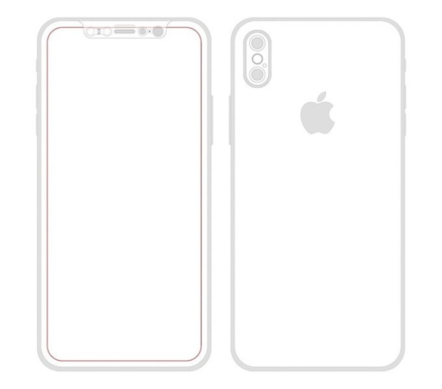 iPhone 8 實機超漂亮!隱藏式 Touch ID、無邊框螢幕、不鏽鋼中框與拉長的電源鍵 iPhone-8-%E7%B4%85%E5%A4%96%E7%B7%9A