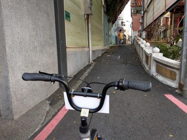 體驗心得:台南 oBike 無樁共享自行車試騎,自由停車無拘束 IMAG0859