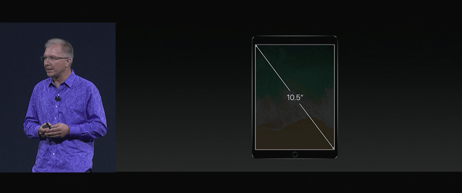 Apple 推出 10.5 吋 iPad Pro,體積縮小螢幕更大,設計取向朝 PC 看齊 WWDC2017-238