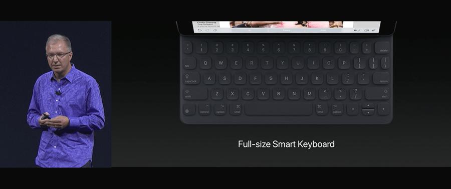 Apple 推出 10.5 吋 iPad Pro,體積縮小螢幕更大,設計取向朝 PC 看齊 WWDC2017-242