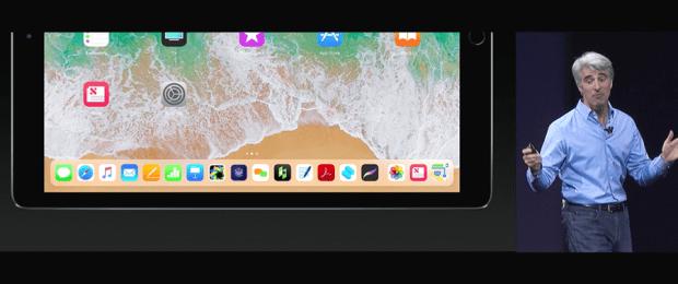 Apple 推出 10.5 吋 iPad Pro,體積縮小螢幕更大,設計取向朝 PC 看齊 WWDC2017-274