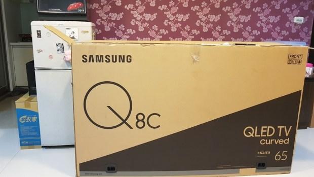 幾可亂真的超真實色彩!Samsung Q8C 65 吋 QLED 量子點電視開箱、評測 20170620_193350